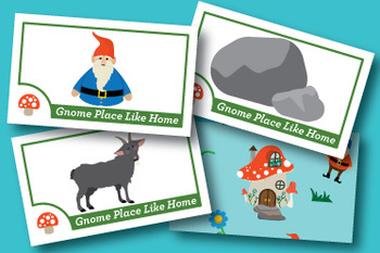 Gnome Place Like Home Short and Long O Phonics Game