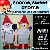 Gnome, Sweet Gnome! - Spring Craft and Writing