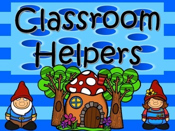 Gnome Theme Classroom Helpers Display