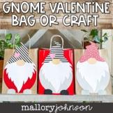 Valentine Bag Gnome Craft