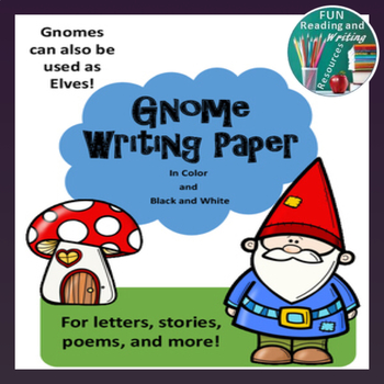Gnome Writing Paper