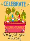 Gnome-vember Freebie
