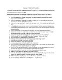 Gnomeo and Juliet Movie Question Sheet- 20 questions
