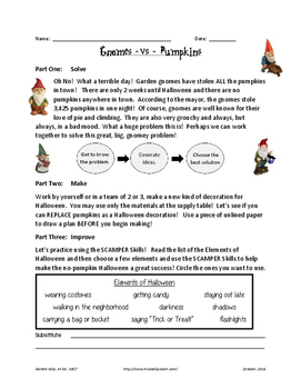 Gnomes VS Pumpkins