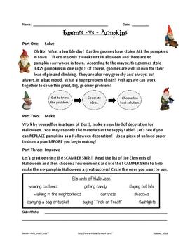 Gnomes VS Pumpkins