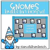 Gnomes Winter Bulletin Board Set