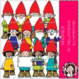 Gnomes clip art - COMBO PACK - by Melonheadz