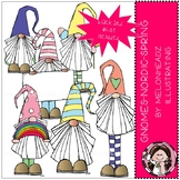 Gnomes clip art - Nordic - Spring - Mini - by Melonheadz