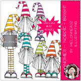 Gnomes clip art - Nordic - bright - Mini - by Melonheadz