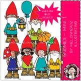 Gnomes clip art - Set 1 - Mini - by Melonheadz