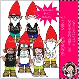 Gnomes clip art - Set 2 - Mini - by Melonheadz