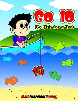 Go 10 (Go Fish for a Ten) {Place Value Game}