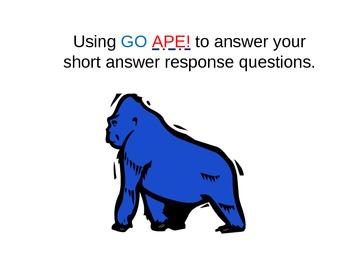 Go APE! Powerpoint