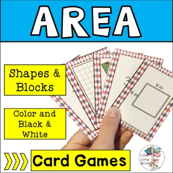 Go Area! Go Fish Area Review Game