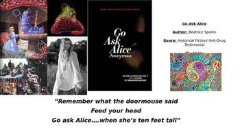 Go Ask Alice Overview Power Point