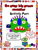 Go Away Big Green Monster - Activity Pack - Learn through stories and craft