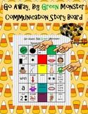 Go Away, Big Green Monster! Communication Story Board, Autism, Speech Language