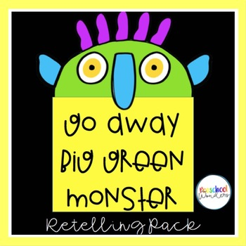 photograph about Go Away Big Green Monster Printable Book titled Routines For Shift Absent Substantial Inexperienced Monster Worksheets TpT