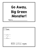 Go Away Big Green Monster Sequencing Booklet
