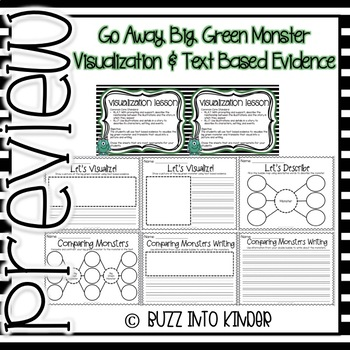 Go Away Big Green Monster : Text Based Writing