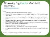 Go Away, Big Green Monster book activity