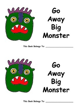 Go Away Big Monster Easy Reader