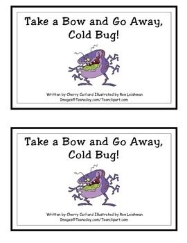 Go Away Cold Bug! Guided Reader (-ug Word Family)