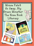 Go Away Green Monsters Literacy