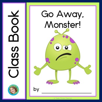 Go Away, Monster Class Book with Sight Words