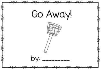 Go Away!  emergent reader