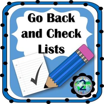Go Back and Check Lists: Self-Editing Rubrics for Beginnin