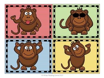 Go Bananas! {Kindergarten Sight Word Game}