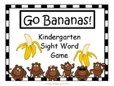 Go Bananas! {Sight Word Game}