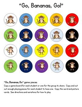 Go Bananas Vocabulary Building Game