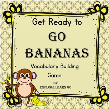 Go Bananas Vocabulary Building Game