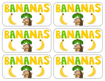 Go Bananas for Sight Words! {First Grade} FREE