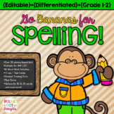 Go Bananas for Spelling: Editable Lists & 16 Engaging Activities