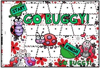 Go Buggy Blank Board Game (EDITABLE)
