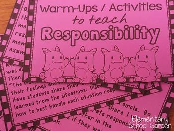 Go Character Ed BUNDLE - Positive Behavior Traits