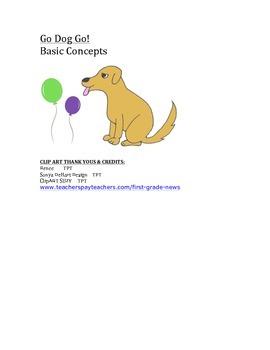 Go Dog Go! Basic Concepts