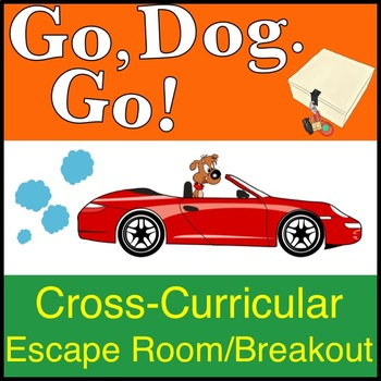 Go Dog Go! Escape Room Activity (LOCK EDITION), compatible with Breakout EDU