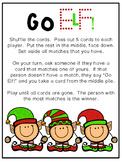 Go Elf!  Go Fish-Style Christmas Digraph Word Work Phonics Game