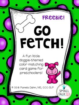 Go Fetch! Freebie