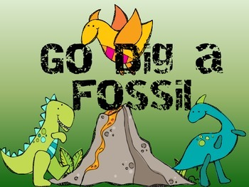 Go Find a Fossil! A Pronoun Activity
