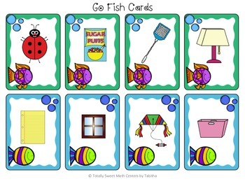 Go Fish- A Card game for Real World Flat Shapes