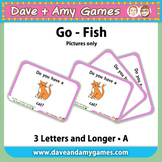 Go Fish/ Memory Match A: CVC Phonics (pictures only)