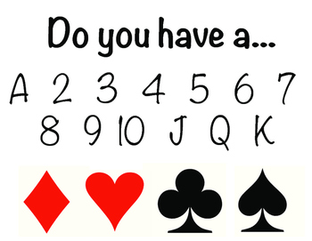 Go Fish: AAC Board/Cards (low tech)