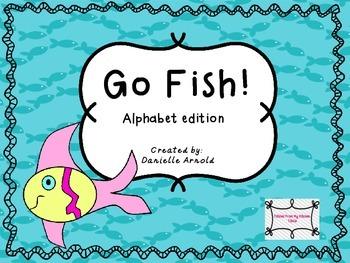 Go Fish: Alphabet edition
