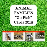Go Fish Animal Families and Collectives Cards