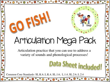 Go Fish Articulation Mega Pack